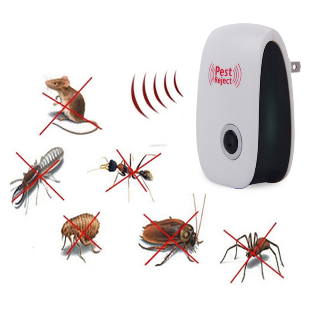 Costbuys  Hot Sale Mosquito Killer Electronic Multi-Purpose Ultrasonic Pest Repeller Reject Mosquito Repellent Anti Rodent Bug R