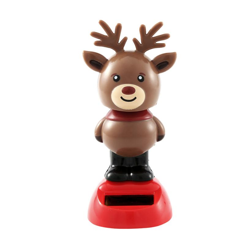 Costbuys  Solar Powered Dancing Halloween Swinging New Animated Bobble Dancer Toy Car Decor Sep 1 - Brown