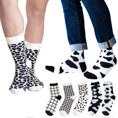 fashion colorful happy socks cotton gentlemen high quilty short sock Harajuku Street Tide Casual mens socks