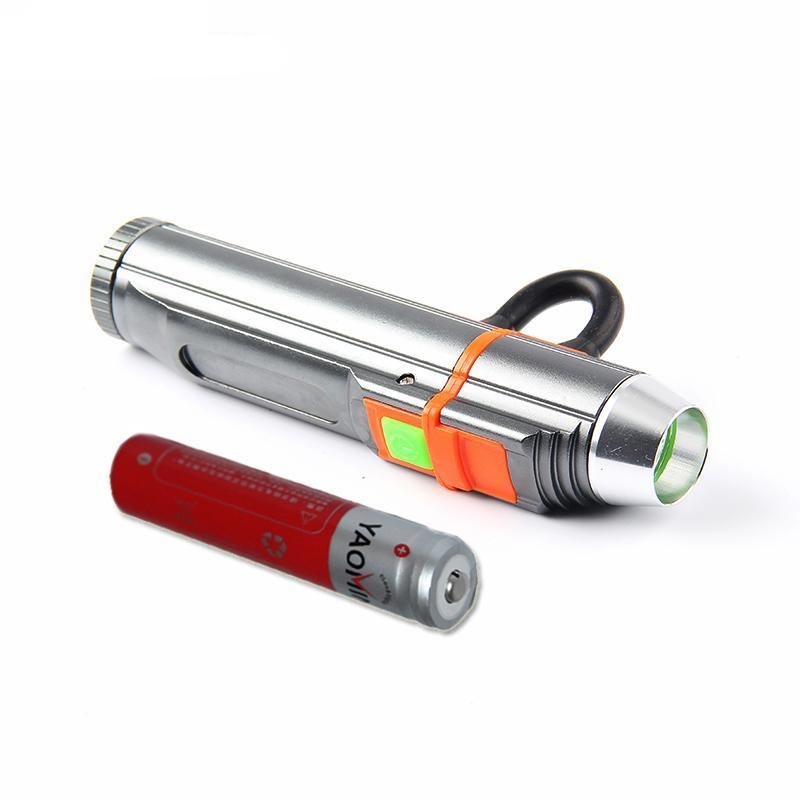 Costbuys  Power Bank Flashlight Cree Q5 Rechargeable Lantern USB Charge Led Flashlight Tactical Linternas Include 18650 Battery