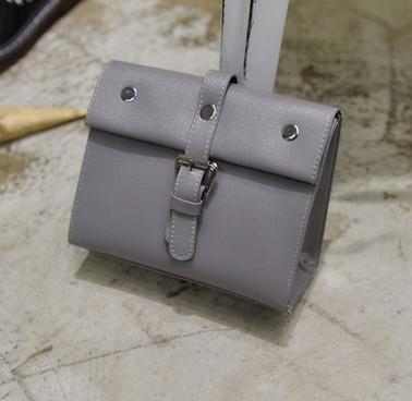 Costbuys  In the summer of we will have a mini bag with a single shoulder and a single shoulder Crossbody Bags - gray / Mini(Max