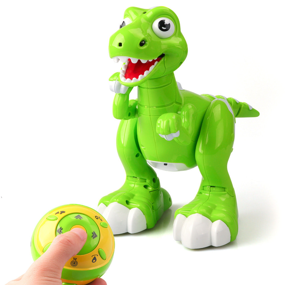 Interactive Remote Control Fog Spray Dinosaur Toy Multifunctional Light Music Dancing Children Toy