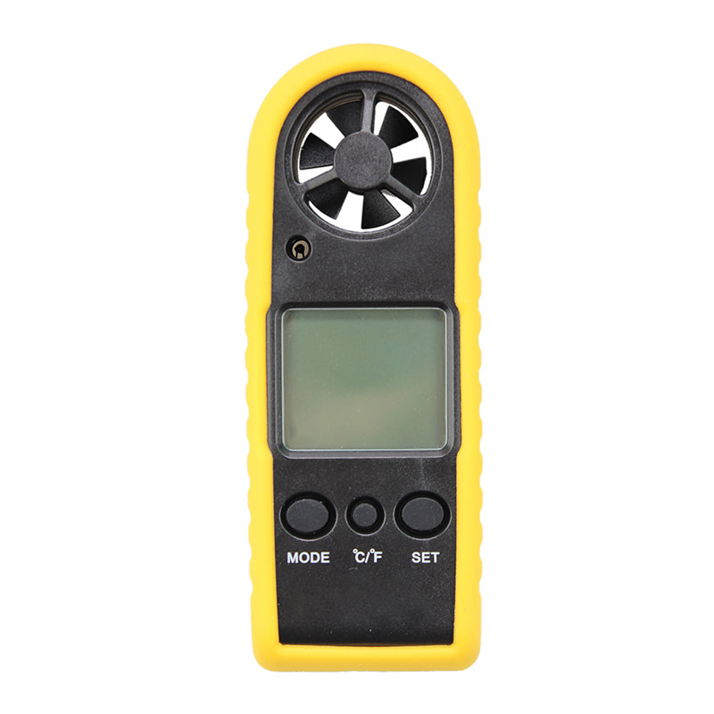 JFBL Hot HT-383 Portable Digital Anemometer Handheld LCD Electronic Wind Speed Air Volume Measuring Meter Backlight