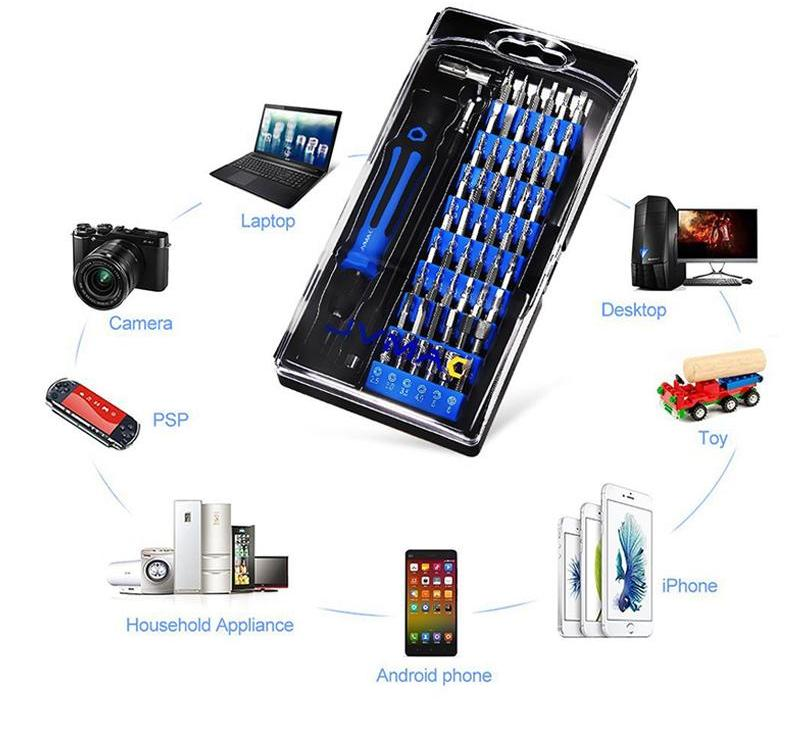 Costbuys  59 in 1 portable Multi-function Screwdriver Set Precision Telecommunication Tool Set For iphone Repair Tools