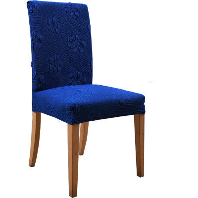 Costbuys  Jacquard Burgundy Chair Cover Thick Fabric Universal Spandex Chair Cover Office Computer  Chair Coverture Chaise Curbr
