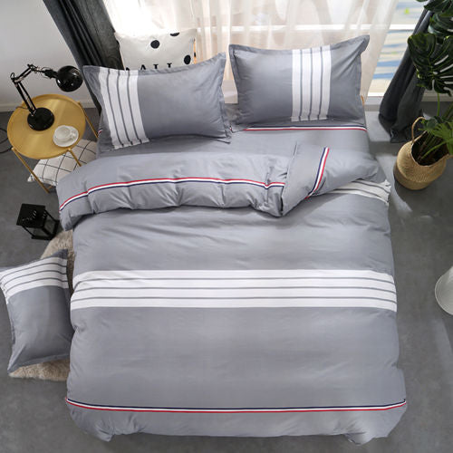 Costbuys  Juwenin Home Promotion !!! Bedding bed linen 3/4pcs Bedding Set duvet set bed set bed linen 70 - AS / King