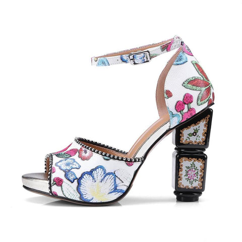 Bohemian Women Summer  Sandals low Heel Flip  flat sandals With Sunflower Beads Flat flat sandals  Size 36-40