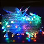 LED String lights 10M 100 Leds AC220V AC110V 8 Modes 20M 30M 50M 100M Holiday lights Decoration for Party Garden Christmas Fairy