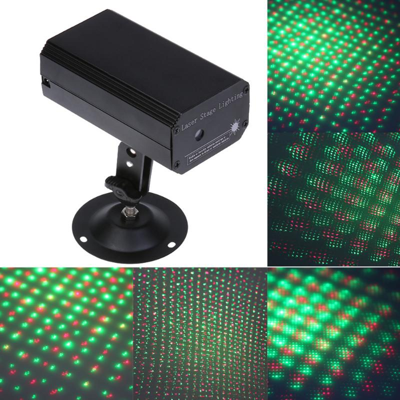 Costbuys  LED Twinkling Star Stage Lighting Project Sound Control Mini Laser Light Laser Stage Effect Light Party Disco Club DJ