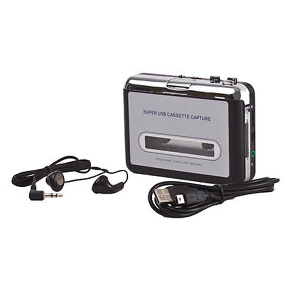 Costbuys  Tape Cassette Convert To MP3 Player Converter To USB Audio Captuer Walkman Music Player + CD +USB cable+ Earphones - S