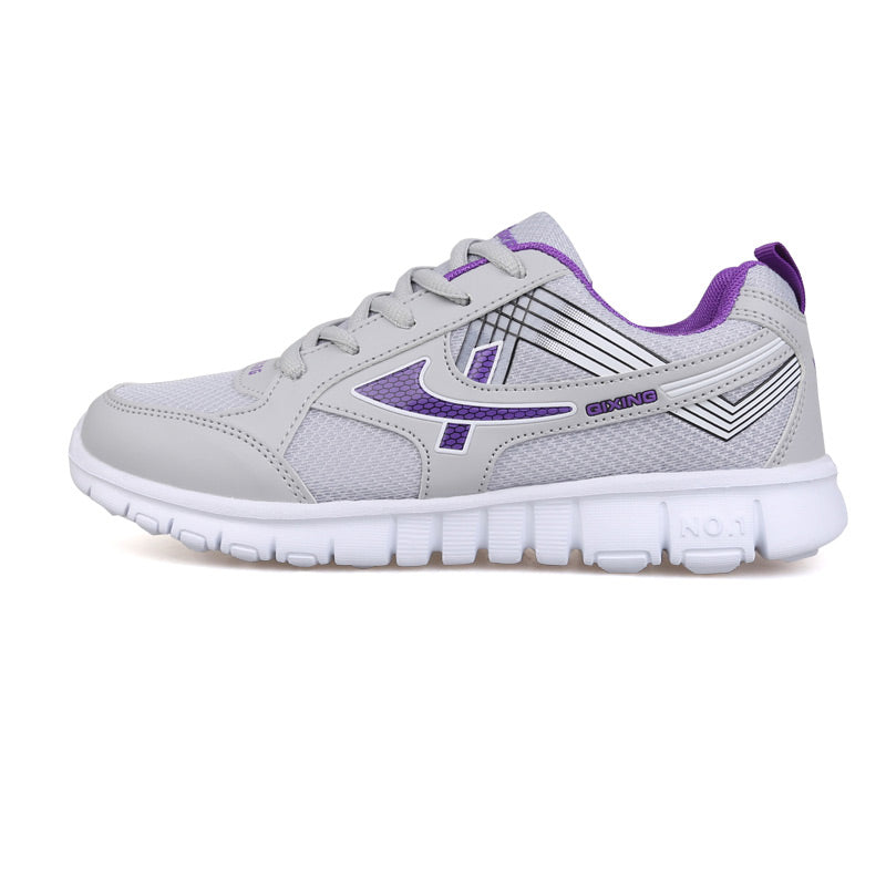 Costbuys  Lace-up Woman Casual Walking Shoes New Arrivals Women Breathable Shoes Fashion Sneakers Shoes tenis feminino - Light g