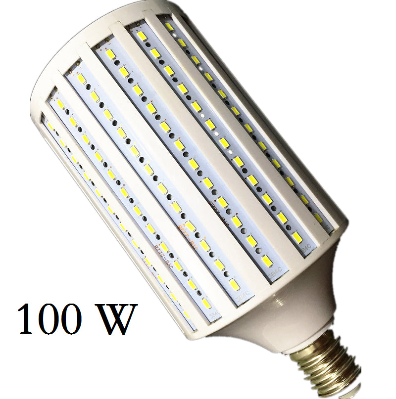 Lampada 40w 50w 60w 80w 100w led lamp 5730 2835smd e27 e40 for Lampade e27 a led