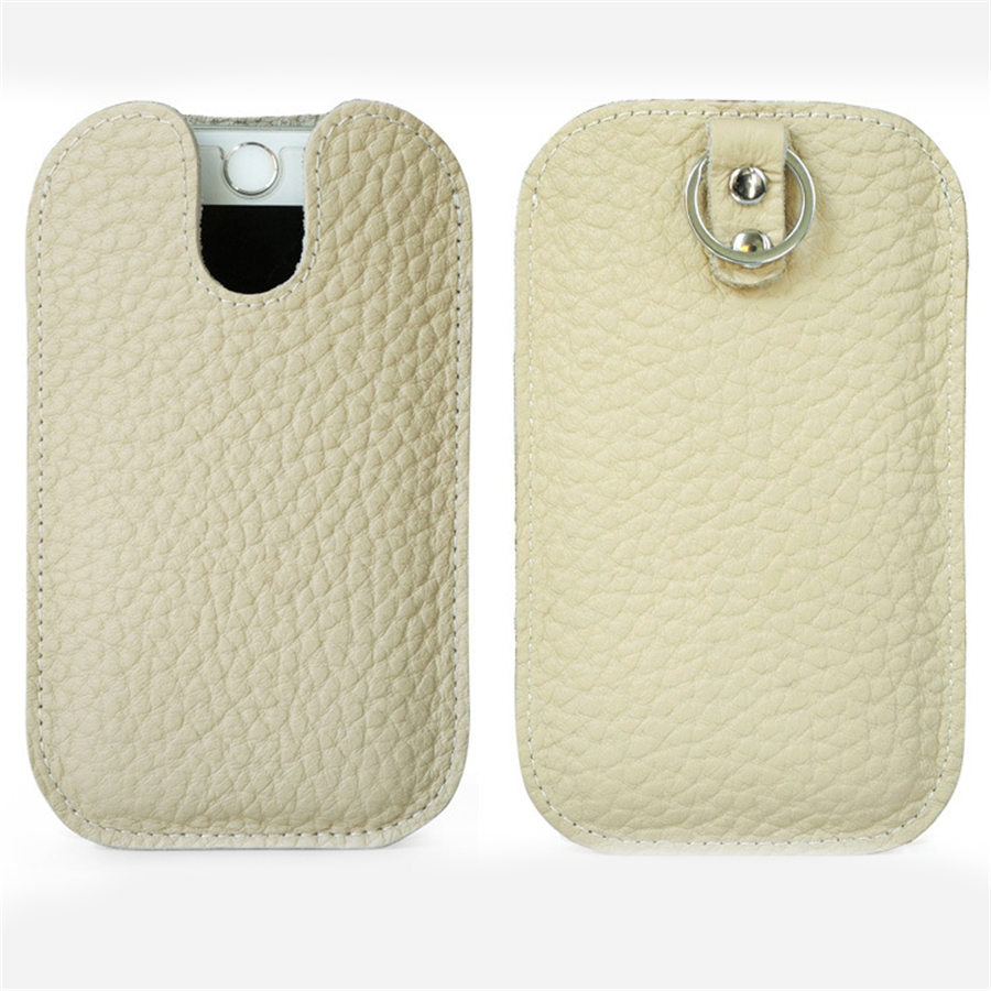 Costbuys  Leather Envelope Design Wallet Phone Case Cover for iPhone 6 6S 7 8 Plus Ring Protective Bag Phone Pouch Cell Phone Ac