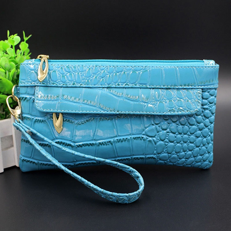 Leather Small Evening Clutch Bag Crocodile Pattern Leather Genuine Women Messenger Bags Purses and Handbags Designer Bolsos