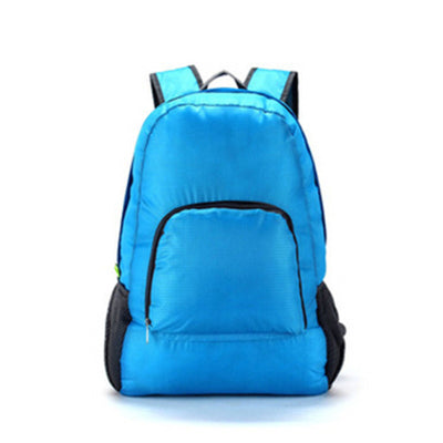 Costbuys  Lightweight Foldable Waterproof Women Men Backpack Skin Pack Travel Outdoor Sports Camping Hiking Bag Rucksack 7 Color