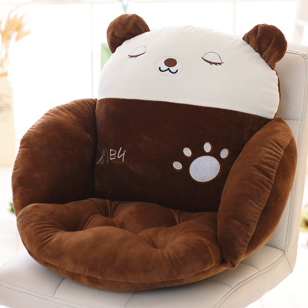 Costbuys  Lovely Cartoon Chair Cushion for Home Decor and Office, Thicken Seat Pad Sofa Home Decorative Pillow Car Seat - miyanx