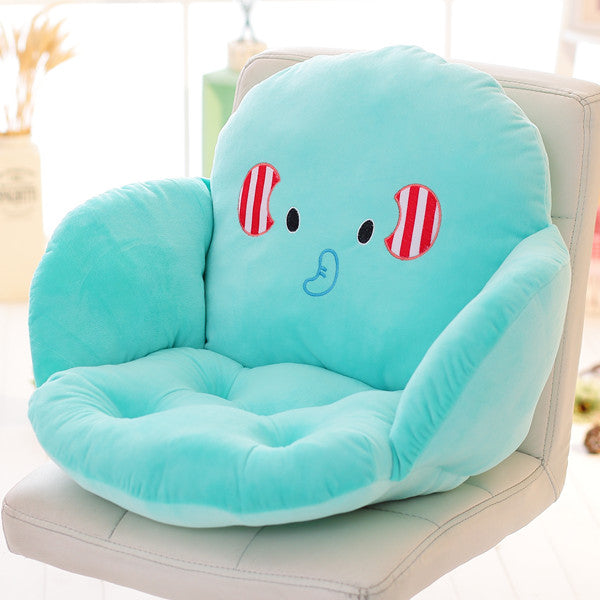 Costbuys  Lovely Cartoon Chair Cushion for Home Decor and Office, Thicken Seat Pad Sofa Home Decorative Pillow Car Seat - daxian