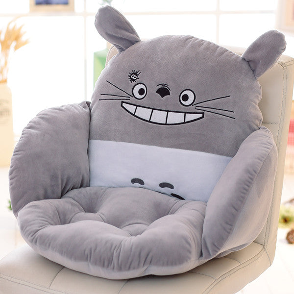 Costbuys  Lovely Cartoon Chair Cushion for Home Decor and Office, Thicken Seat Pad Sofa Home Decorative Pillow Car Seat - ziyato