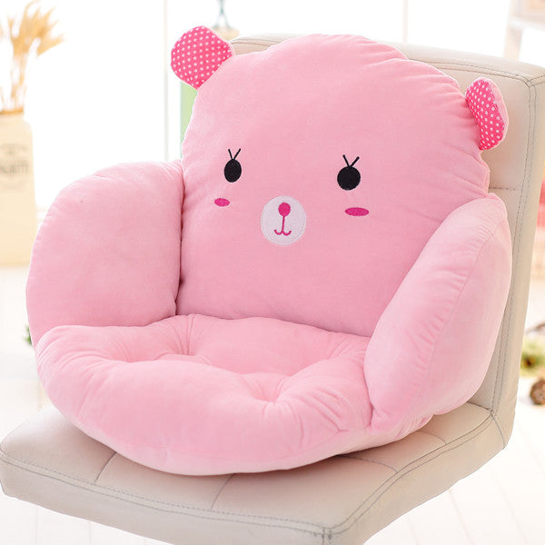 Costbuys  Lovely Cartoon Chair Cushion for Home Decor and Office, Thicken Seat Pad Sofa Home Decorative Pillow Car Seat - fentuz