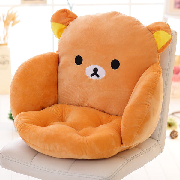 Costbuys  Lovely Cartoon Chair Cushion for Home Decor and Office, Thicken Seat Pad Sofa Home Decorative Pillow Car Seat - rilakk