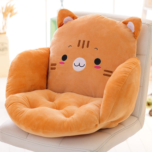Costbuys  Lovely Cartoon Chair Cushion for Home Decor and Office, Thicken Seat Pad Sofa Home Decorative Pillow Car Seat - zongma