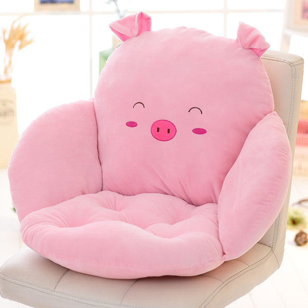 Costbuys  Lovely Cartoon Chair Cushion for Home Decor and Office, Thicken Seat Pad Sofa Home Decorative Pillow Car Seat - fenzhu