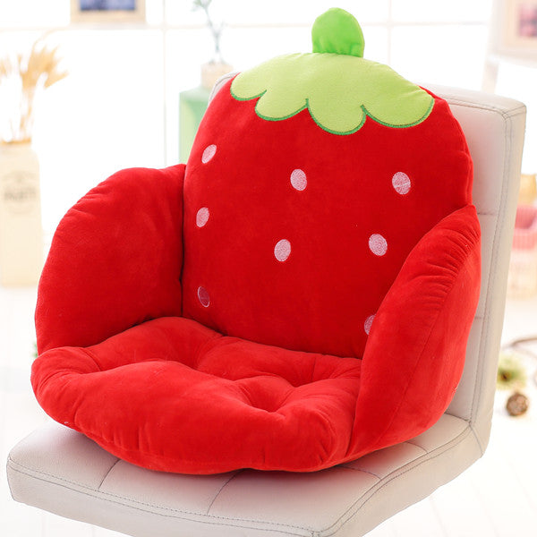 Costbuys  Lovely Cartoon Chair Cushion for Home Decor and Office, Thicken Seat Pad Sofa Home Decorative Pillow Car Seat - caomei
