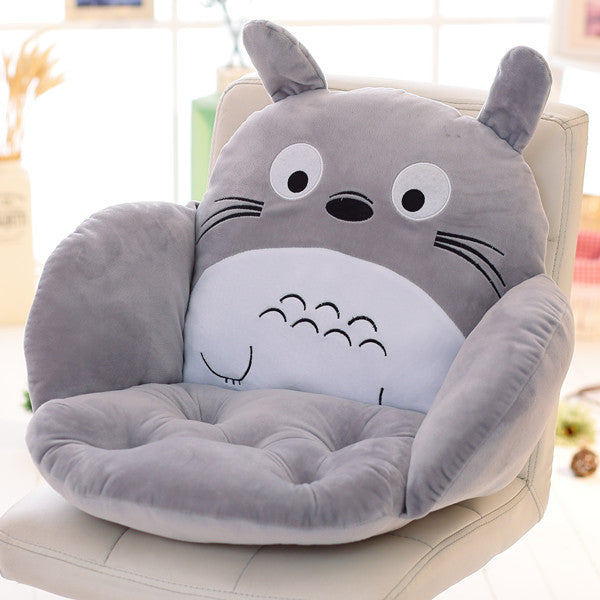 Costbuys  Lovely Cartoon Chair Cushion for Home Decor and Office, Thicken Seat Pad Sofa Home Decorative Pillow Car Seat - Totoro