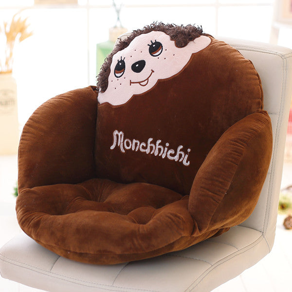 Costbuys  Lovely Cartoon Chair Cushion for Home Decor and Office, Thicken Seat Pad Sofa Home Decorative Pillow Car Seat - houzi