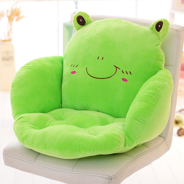 Costbuys  Lovely Cartoon Chair Cushion for Home Decor and Office, Thicken Seat Pad Sofa Home Decorative Pillow Car Seat - qingwa