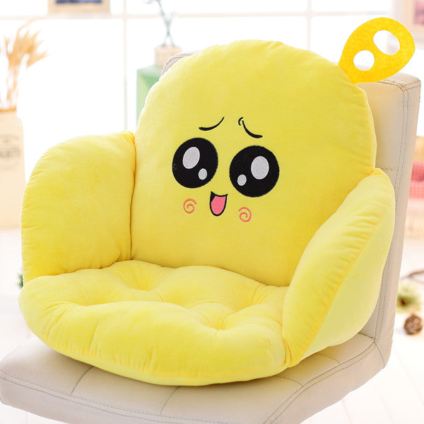 Costbuys  Lovely Cartoon Chair Cushion for Home Decor and Office, Thicken Seat Pad Sofa Home Decorative Pillow Car Seat - leiyan