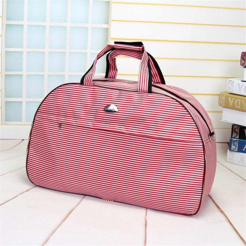Costbuys  Luggage Travel Bags for Women Men Large Waterproof Travel Duffle Casual Oxford Shoulder Bag Messenger Crossbody Suitca
