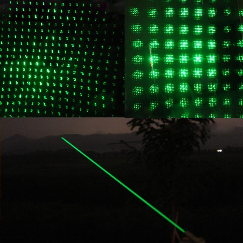 1pcs green laser pointer high power strong light match cigarette and