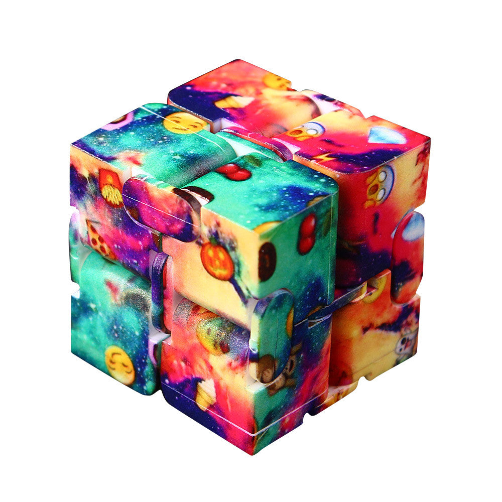 Costbuys  Luxury EDC Mini For Stress Relief Fidget Anti Anxiety Stress Funny Toys Antistress Cube Relief Toy for adults - Multic