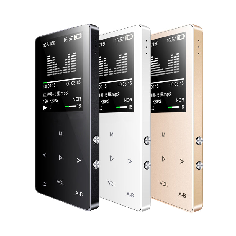 Costbuys  M350 Touch Screen HIFI MP3 Player Built-in Speaker Metal High Sound Quality Entry-level Lossless Music Player Support