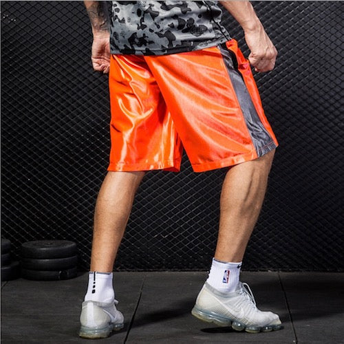 Costbuys  Running Shorts Men Quick Dry Football Marathon Gym Run Sport Shorts With Pockets For Men Sport Clothing Fluorescence -