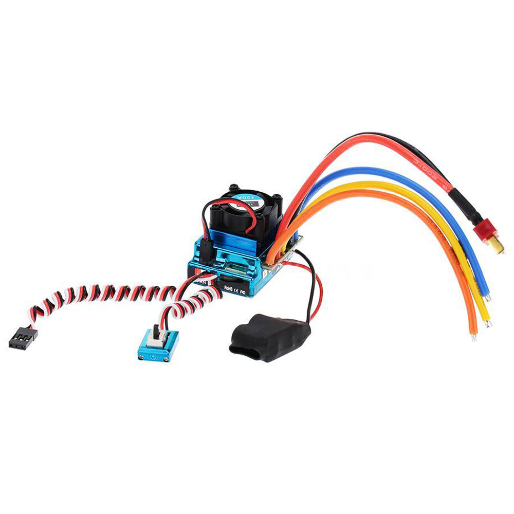 Costbuys  MACH 120A Sensored Brushless Speed Controller ESC for RC 1/8 1/10 1/12 Car Crawler