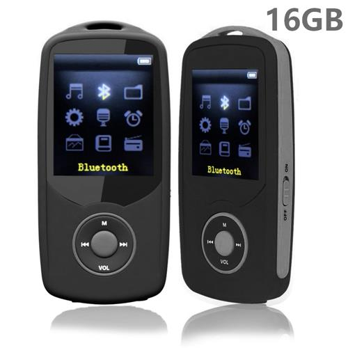 Costbuys  MP3 Player with Bluetooth 1.8 inch Screen High Quality Lossless mp3 Music Player with FM Radio Voice Recording + Free