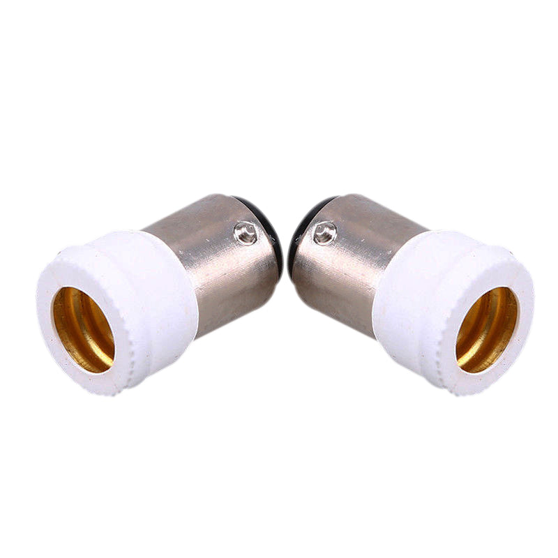 Costbuys  2pcs Light Bulb Adaptor E14 Light Bulb Lamp Holder Converters Lighting Accessories Home Lighting Supplies