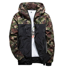 Men 's Fashion Jackets Casual Men Youth Men' s Slim Style Tide Men 's Clothing Spring Autumn