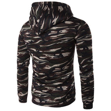 Men's Hoodies Long Sleeve Sweatshirt 3D Hoodies Camo Printed Hoodie Casual Hooded Tracksuit Sudaderas Hombre