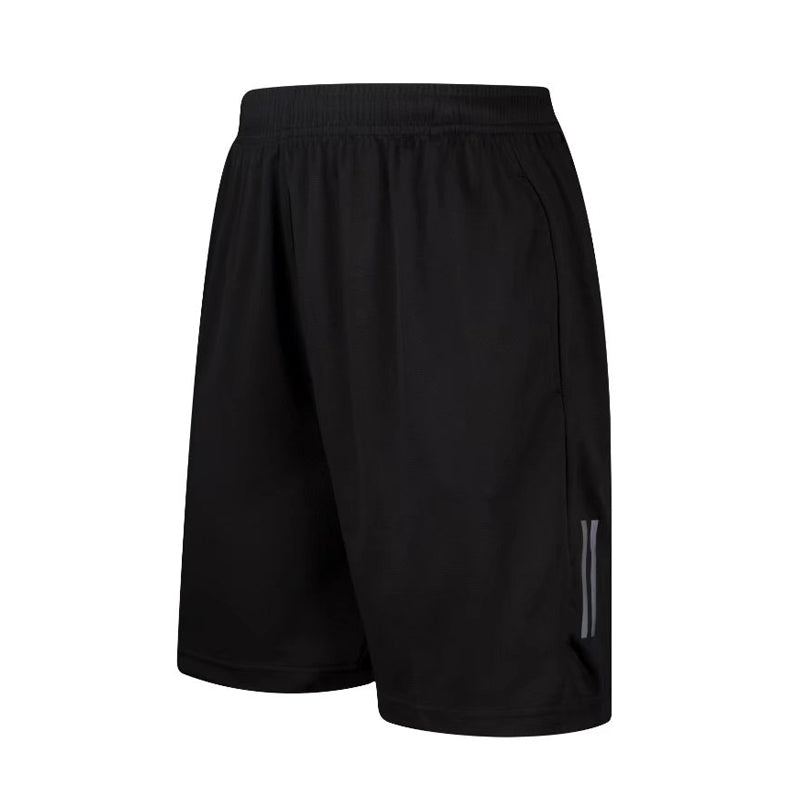Costbuys  Mens Light Weight GYM Workout Sports Running Shorts for Women Training Soccer Tennis Solid Sports Shorts with Zip Pock
