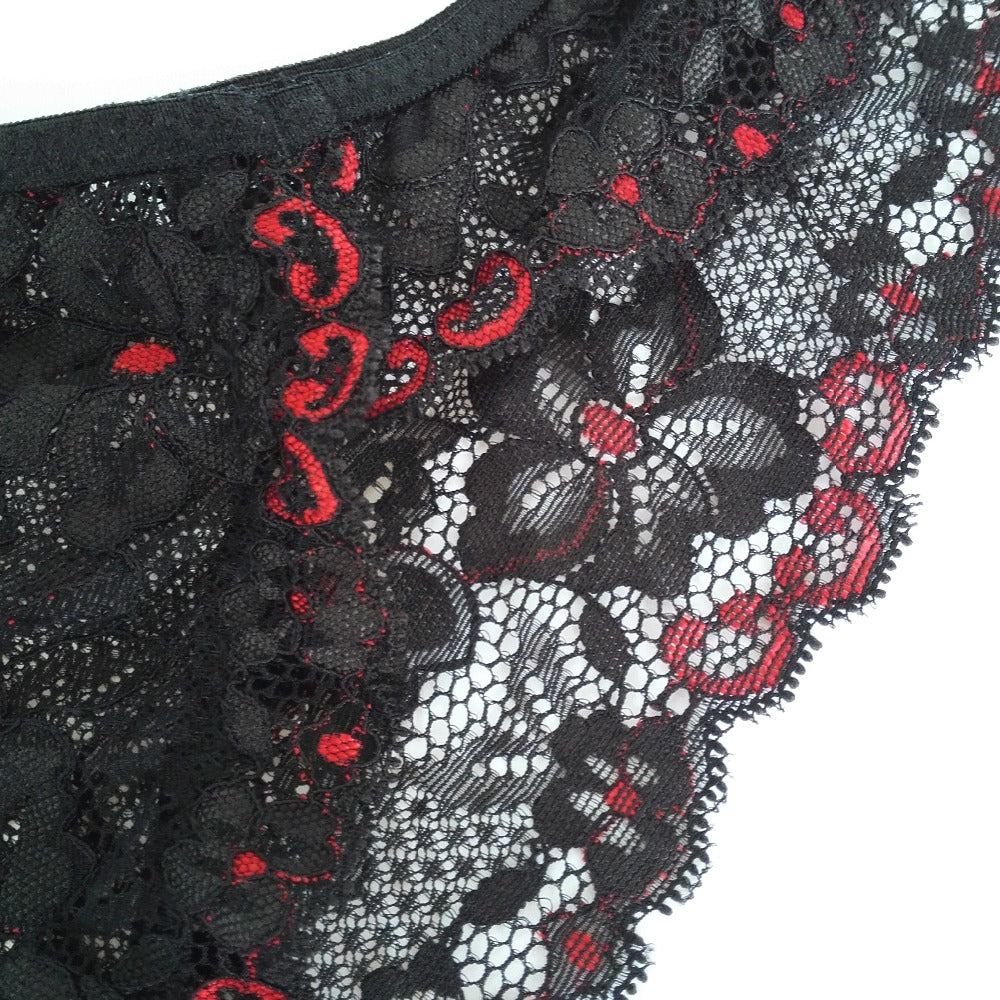 79ed064be Mens Sexy Lace Underwear Floral Lace Pouch Bikini Briefs – Costbuys
