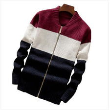 Mens Sweaters And Pullovers Pure Merino Wool Sweater Men Winter Thick Warm Zipper Turtleneck Cashmere Pullover Men