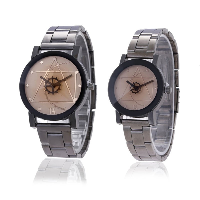 Costbuys  Mens Watches high quality Stainless Steel Watch Women Men Casual Quartz Clock Man Watch Couple watches relogio masculi