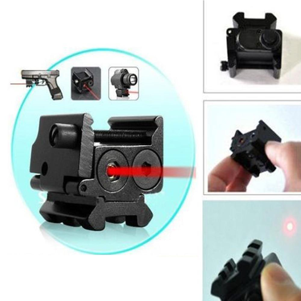 Mini Adjustable Compact Red Dot Laser Sight Fit for Glock 17 19 with