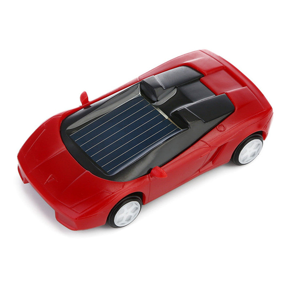Costbuys  Mini Car Solar Powered Toy Kids Gift Super Cute Creative Educational ABS No-toxic Material Toys For Children Favorate