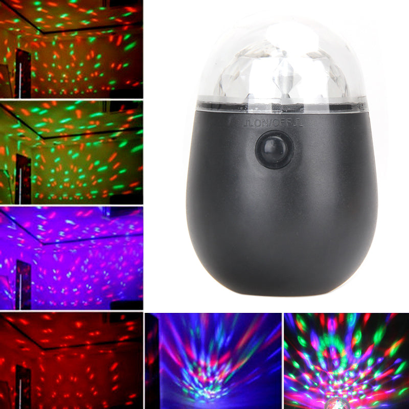 Costbuys  Mini LED Waterproof Colorful Light RGB Laser Stage Effect Lighting 3W Disco Light for Outdoor Party DJ Club
