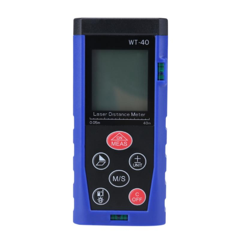 Costbuys  Mini Portable Handheld Laser Distance Meter 40m Digital Hand Building Space Measurement Device Ruler Test Tool