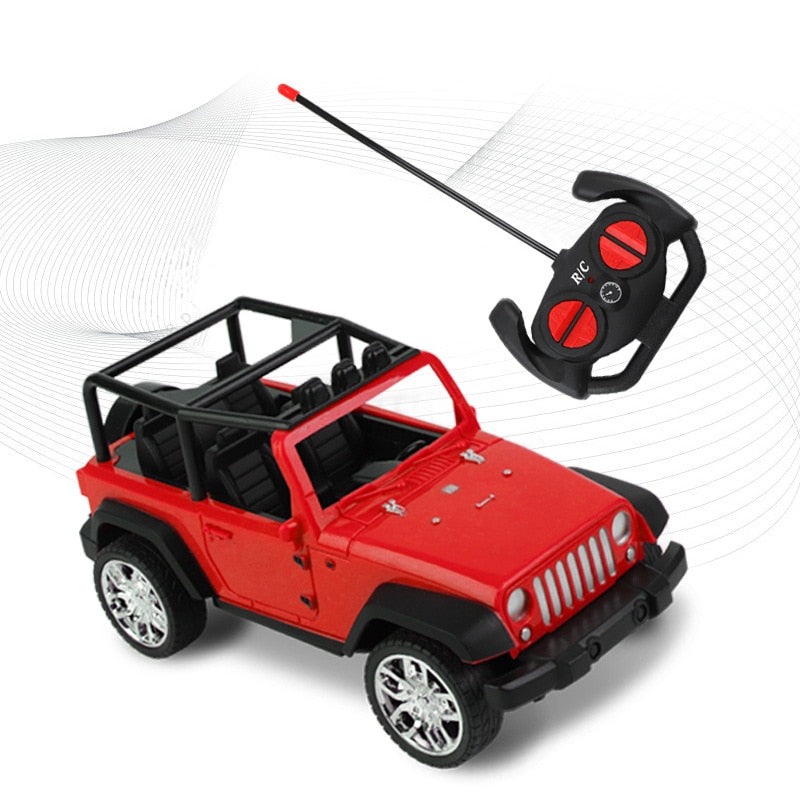 Costbuys  Mini RC cars Toys for children Car Remote Control Toys Radio Control Boys Toys 4 year Toddler Jeep Suv Strong Christma